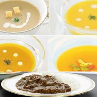 ビーフカレー&スープセット