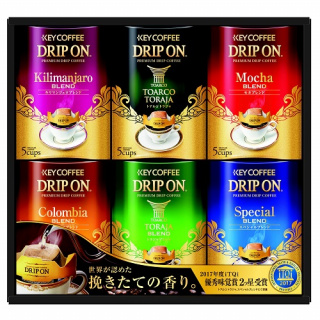 ドリップオンコーヒーギフト