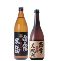 白露黒麹・薩摩の麦焼酎